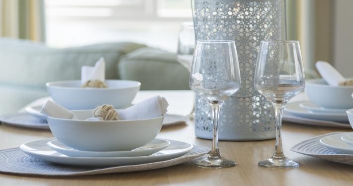 Prestige Acorn Dining Room Detail, Heron Lakes