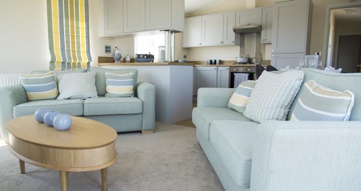 Prestige Acorn Living room, open plan living, Heron Lakes