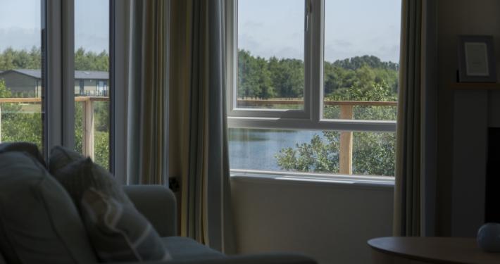 Prestige Acorn Living room view, Heron Lakes