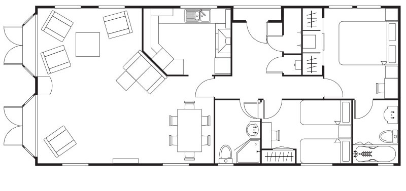 Cosalt Lodge floorplan