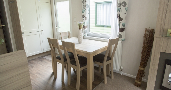 2017 Swift Adventurer plus dining room