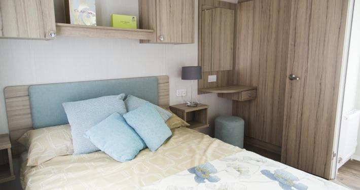 2017 Swift Adventurer plus Master Bedroom