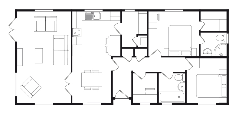 prestige Maple floor plan