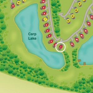 Plot No 1 Location on the Carp Lake- Advent Valerian