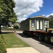 Upgrading a caravan at Castle Howard. Upgrade Blog