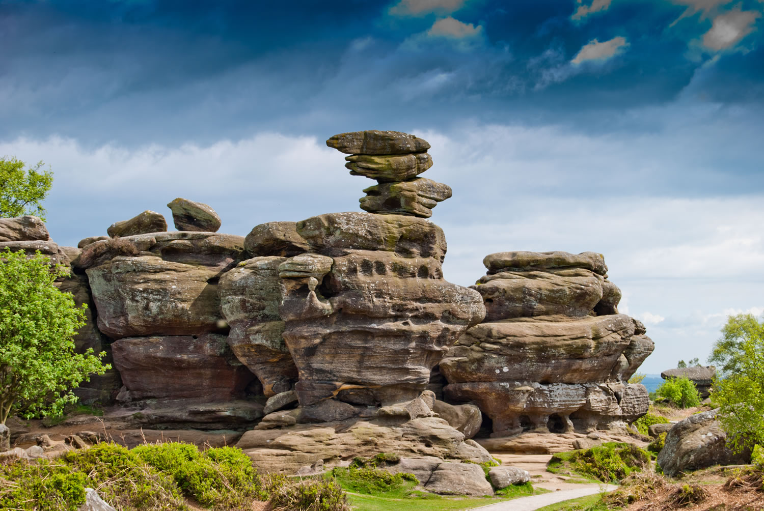 Autumn staycation -Brimham rocks